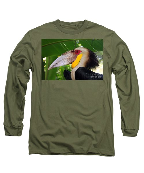 Long Sleeve T-Shirt featuring the photograph Toucan by Sergey Lukashin