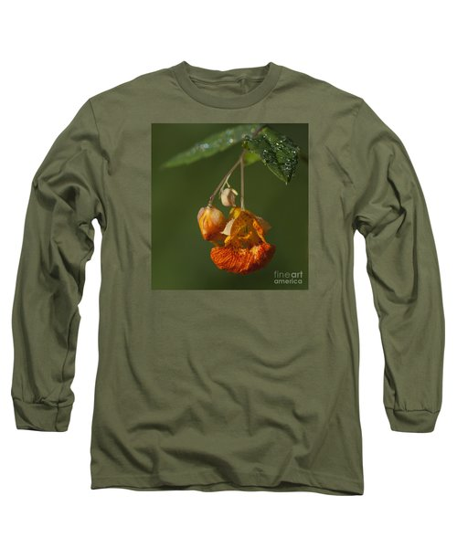 Touch Me Not.. Long Sleeve T-Shirt by Nina Stavlund