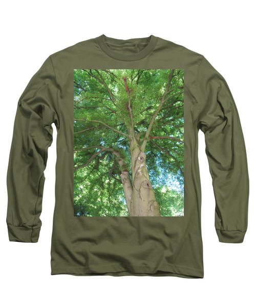 Long Sleeve T-Shirt featuring the photograph Towering Tree by Pema Hou
