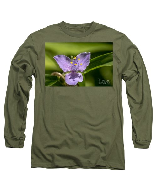Tradescantia Virginiana Long Sleeve T-Shirt