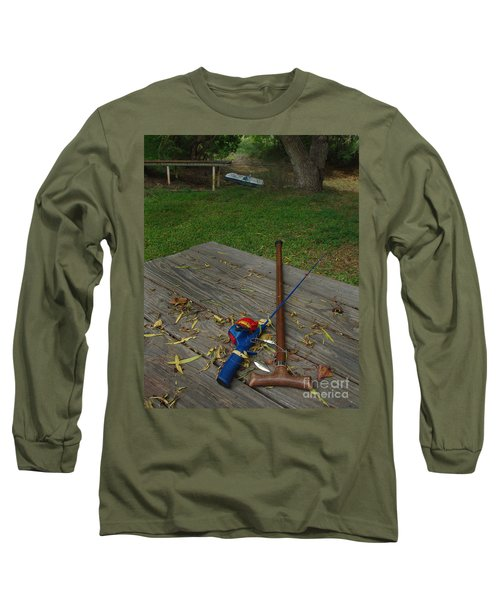 Traditions Of Yesterday Long Sleeve T-Shirt by Peter Piatt