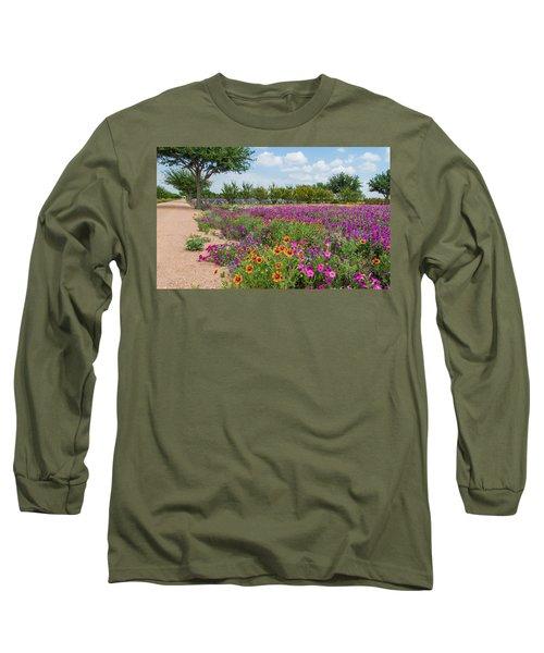 Trailing Beauty Long Sleeve T-Shirt by Lynn Bauer