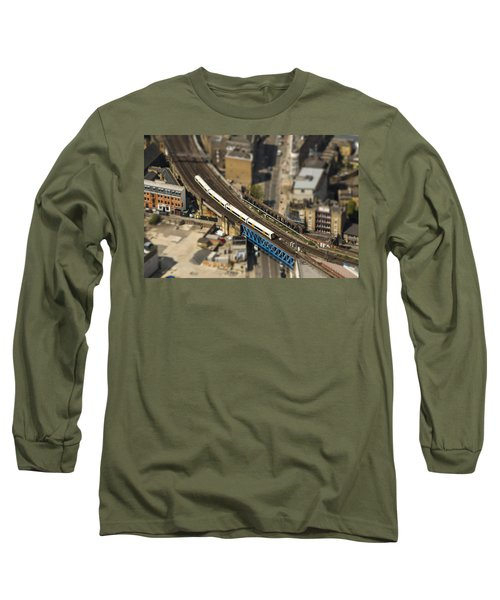 Train In London Long Sleeve T-Shirt