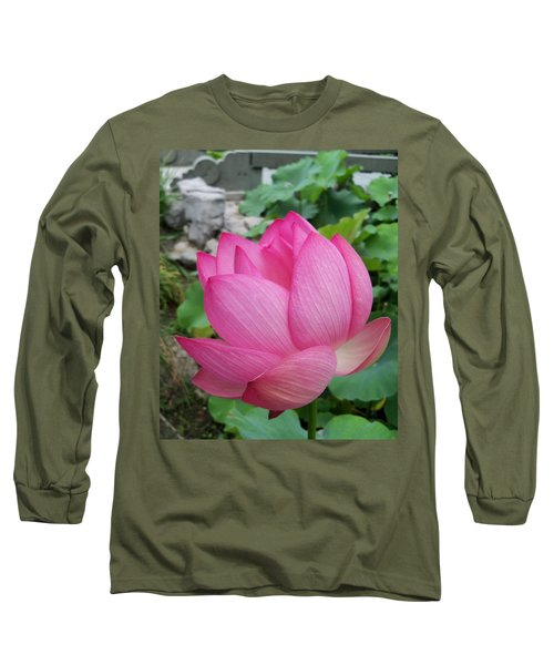 Tranquil Lotus  Long Sleeve T-Shirt