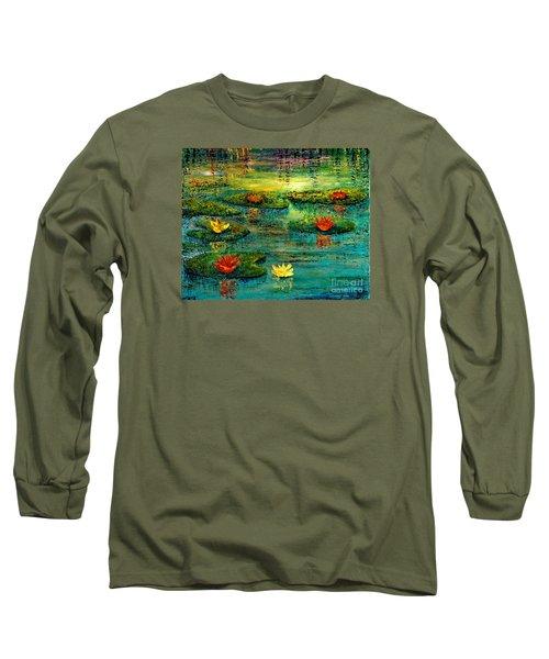 Tranquility Long Sleeve T-Shirt by Teresa Wegrzyn