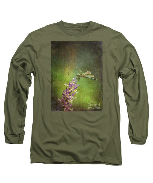 Treading Lightly Long Sleeve T-Shirt by Patricia Griffin Brett