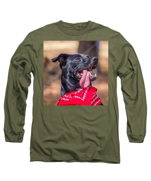 Long Sleeve T-Shirt featuring the photograph Treat Please by Rob Sellers
