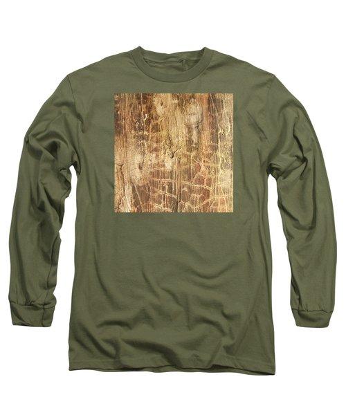 Tree Bark Long Sleeve T-Shirt