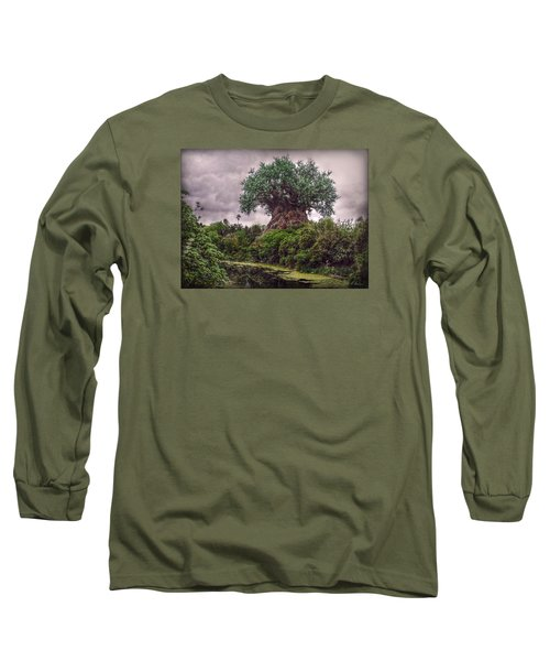 Tree Of Life Long Sleeve T-Shirt by Hanny Heim