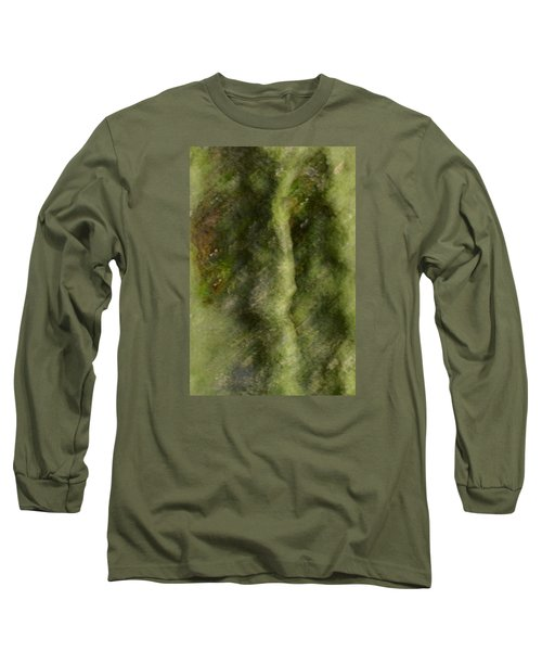 Tree Man Long Sleeve T-Shirt by Nadalyn Larsen
