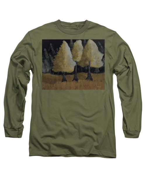 Tree Trio Long Sleeve T-Shirt by Dick Bourgault