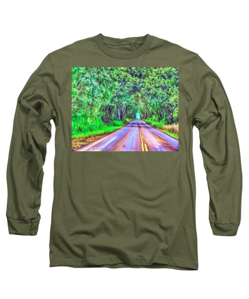 Tree Tunnel Kauai Long Sleeve T-Shirt