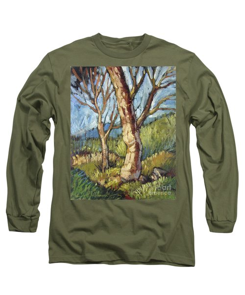 Trees In Spring Long Sleeve T-Shirt