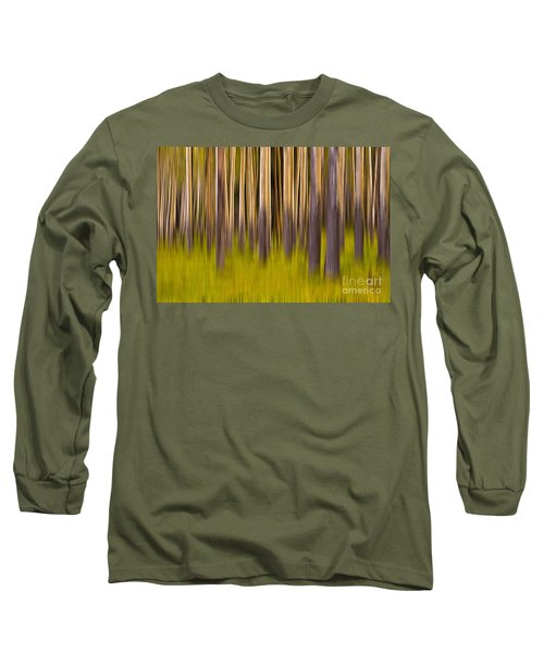 Trees Long Sleeve T-Shirt by Jerry Fornarotto