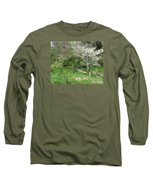 Trees Of Early Spring Long Sleeve T-Shirt