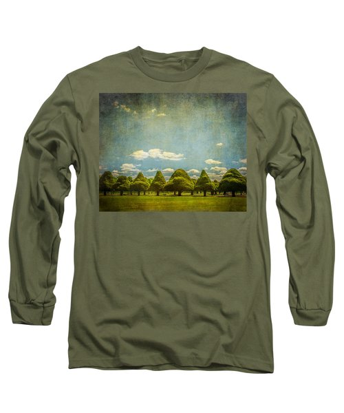 Triangular Trees 003 Long Sleeve T-Shirt