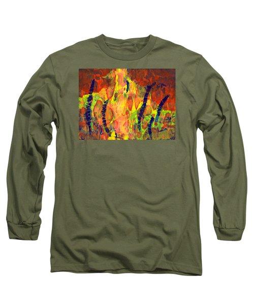 Tribal Essence Long Sleeve T-Shirt by Lynda Hoffman-Snodgrass