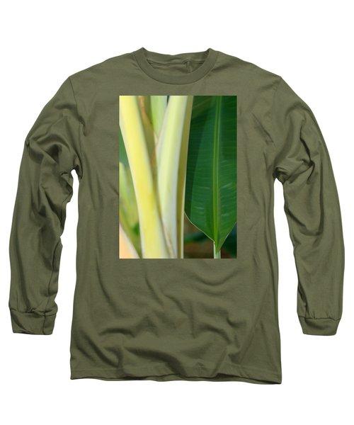 Tropical Banana Tree Long Sleeve T-Shirt
