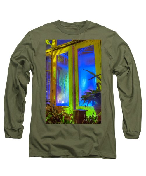 Tropical Door Long Sleeve T-Shirt