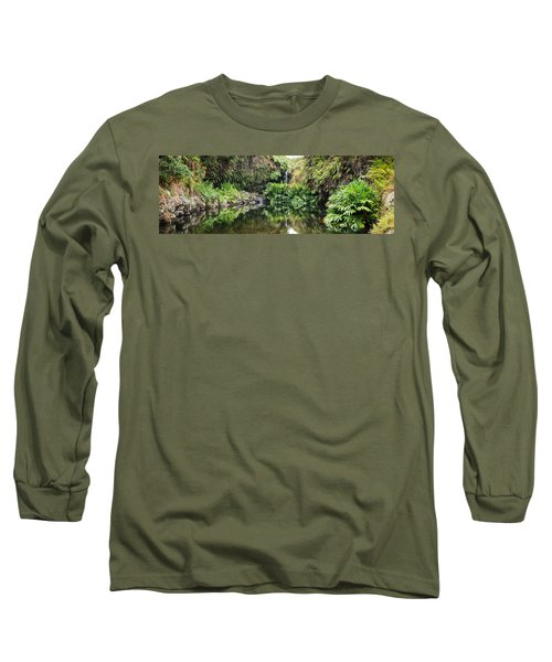 Tropical Reflections Long Sleeve T-Shirt