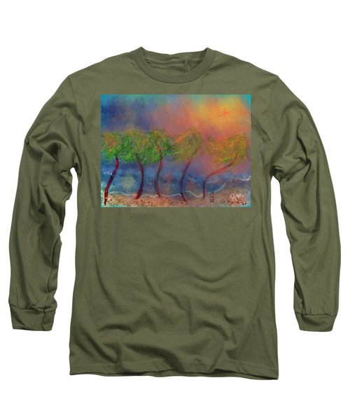 Tropical Sorm On The Way Out Long Sleeve T-Shirt
