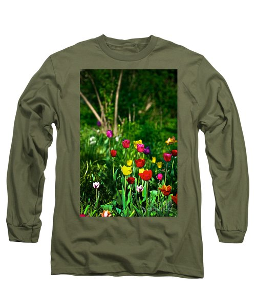 Tulip Rainbow Long Sleeve T-Shirt
