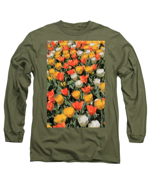 Tulip Stretch Long Sleeve T-Shirt