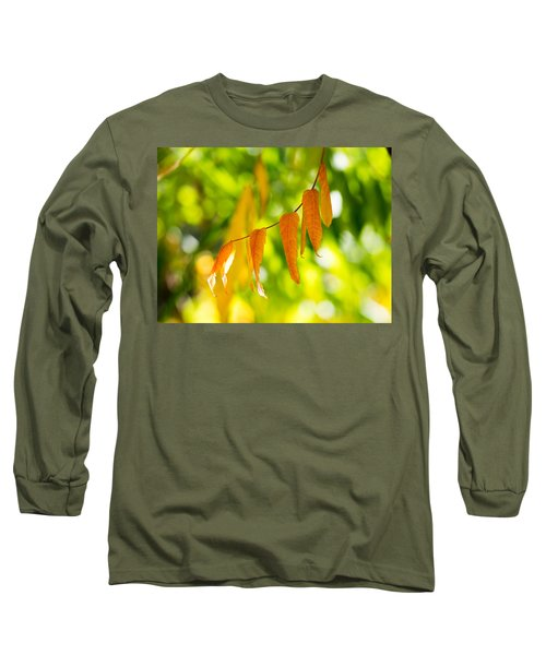 Long Sleeve T-Shirt featuring the photograph Turning Autumn by Aaron Aldrich