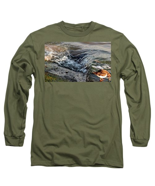 Turnstone By The Water Long Sleeve T-Shirt