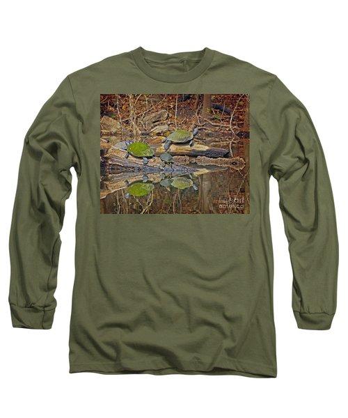 Turtle Trio Long Sleeve T-Shirt