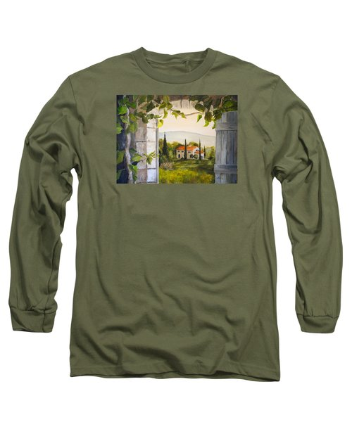 Tuscan View Long Sleeve T-Shirt