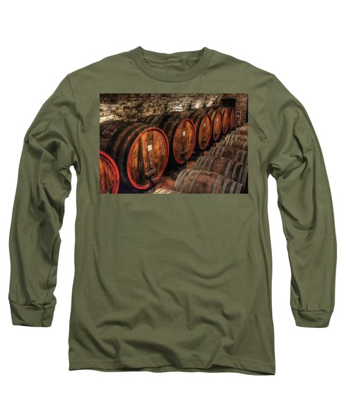 Tuscan Wine Cellar Long Sleeve T-Shirt