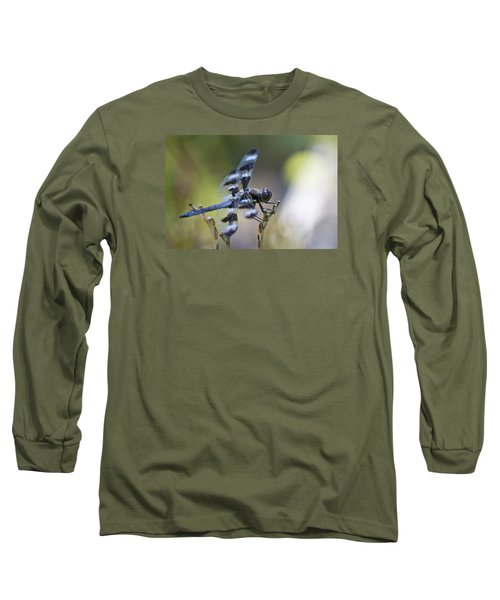 Twelve Spot Hanging Out Long Sleeve T-Shirt by Shelly Gunderson