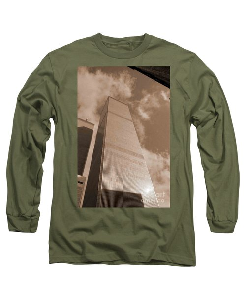 Twin Tower Long Sleeve T-Shirt