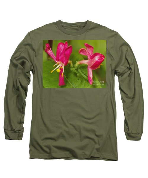 Long Sleeve T-Shirt featuring the photograph Twins by Sara  Raber