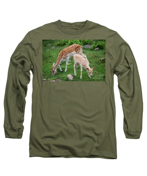 Two Babes Long Sleeve T-Shirt by Bianca Nadeau