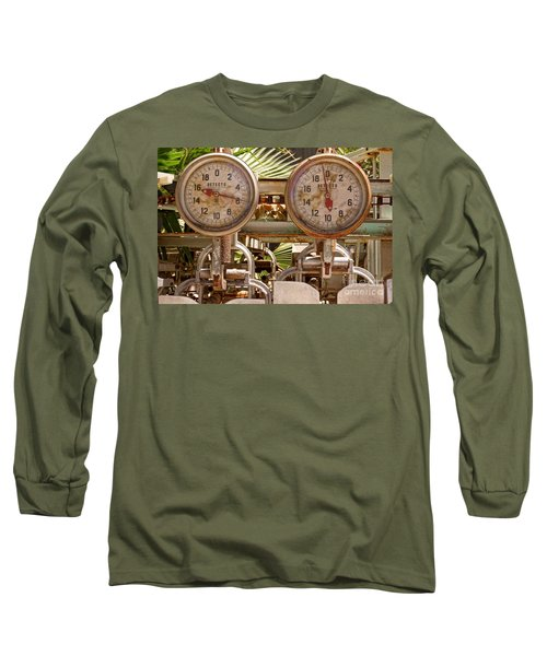 Two Farm Scales Long Sleeve T-Shirt