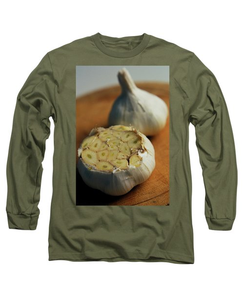 Two Heads Of Garlic Long Sleeve T-Shirt