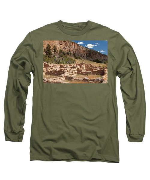 Tyuonyi Bandelier National Monument Long Sleeve T-Shirt