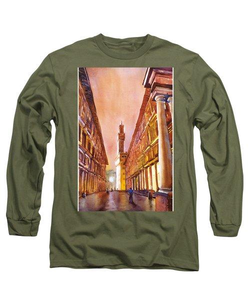 Uffizi- Florence Long Sleeve T-Shirt