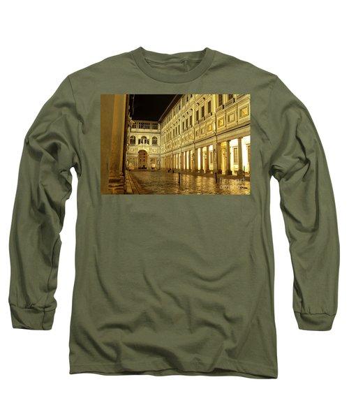 Uffizi Gallery Florence Italy Long Sleeve T-Shirt