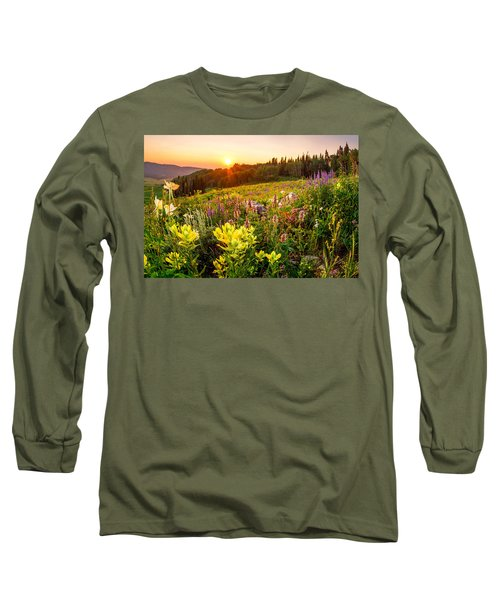 Uinta Wildflowers Long Sleeve T-Shirt