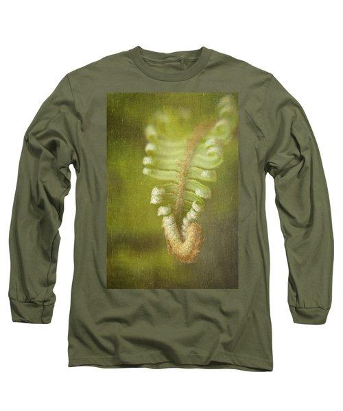 Unfurling Fern Long Sleeve T-Shirt