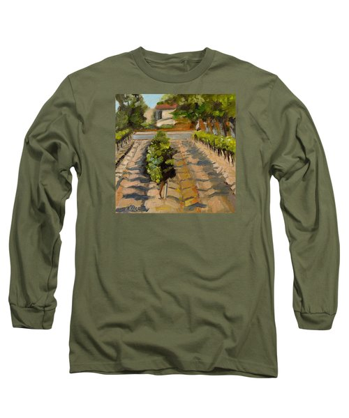 Unparalleled Richness Long Sleeve T-Shirt by Pattie Wall