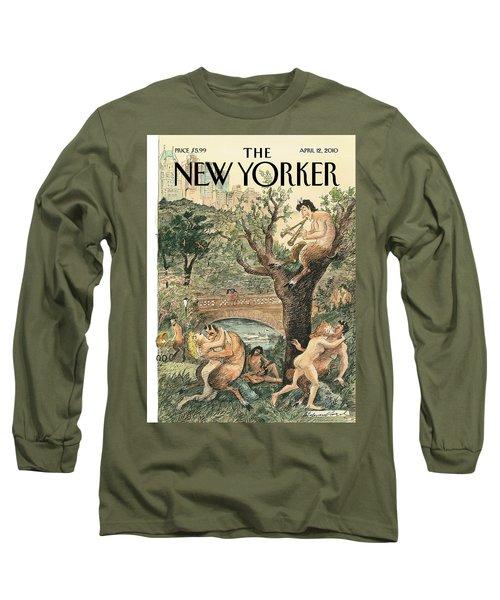 New Yorker April 12th, 2010 Long Sleeve T-Shirt
