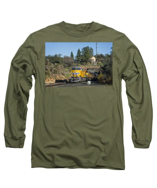Up 8267 Long Sleeve T-Shirt by Jim Thompson