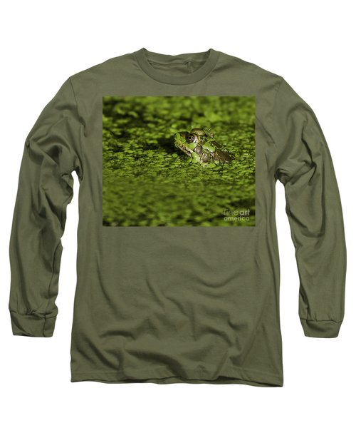 Up To My Neck Long Sleeve T-Shirt