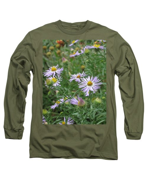 Uplifted Asters Long Sleeve T-Shirt