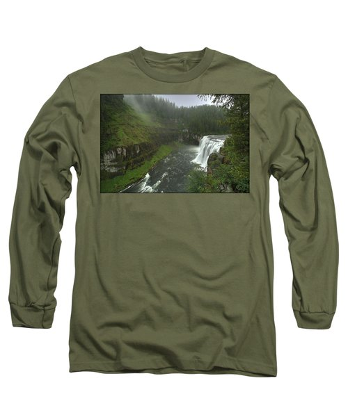 Upper Messa Falls Long Sleeve T-Shirt