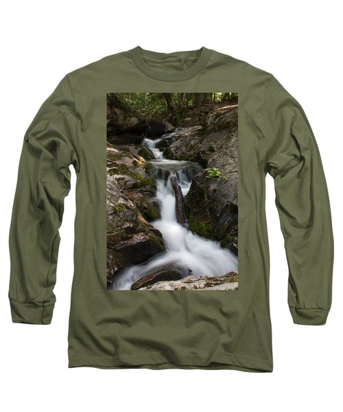 Upper Pup Creek Falls Long Sleeve T-Shirt